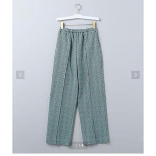 6ROKU CHIDORI JACQUARD PANTS