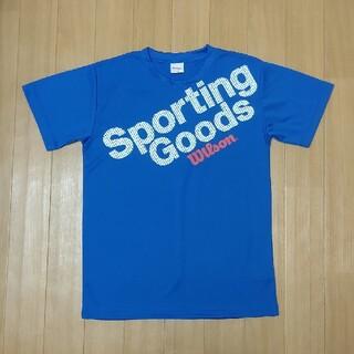 ウィルソン(wilson)のBOYSTシャツ 160 ブルー(Tシャツ/カットソー)