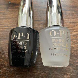 オーピーアイ(OPI)のO.P.Iトップとベース2本セット(ネイルトップコート/ベースコート)