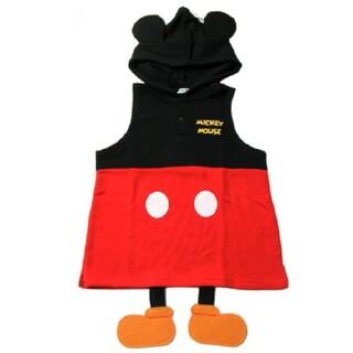 ミッキーマウスなりきりベスト 90cm(その他)