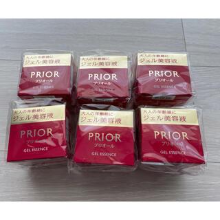 プリオール(PRIOR)の資生堂 プリオール ジェル美容液(48g)×6(美容液)