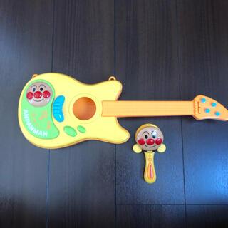 アンパンマン(アンパンマン)のアンパンマン ギター&カスタネット(楽器のおもちゃ)