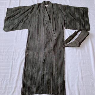 浴衣 メンズ 男性 ワンタッチ M(浴衣)