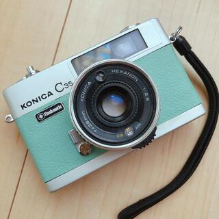 コニカミノルタ(KONICA MINOLTA)の【インテリアに】KONICA C35 Flashmatiコニカフラッシュマチック(フィルムカメラ)