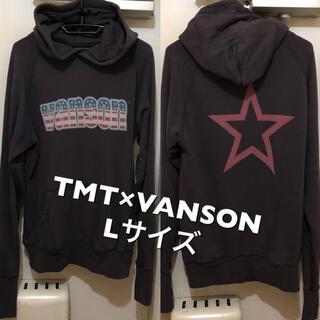 TMT - Lサイズ!TMT×VANSON バンソン  古着プルオーバーラグランスウェット