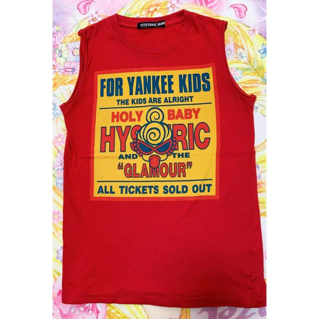 HYSTERIC MINI(ヒステリックミニ)のヤンキータンク キッズ/ベビー/マタニティのキッズ服女の子用(90cm~)(Tシャツ/カットソー)の商品写真