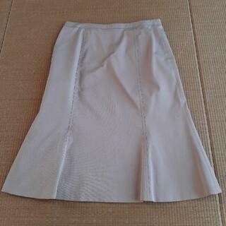 アトリエサブ(ATELIER SAB)の膝丈スカート ベージュ(ひざ丈スカート)