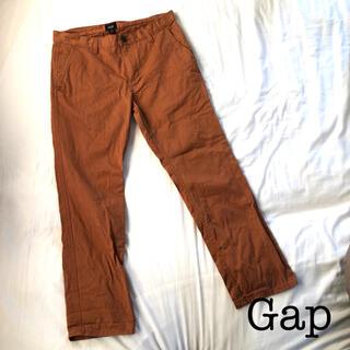 ギャップ(GAP)のGap パンツ チノパン ズボン テラコッタ オレンジ 茶色(チノパン)
