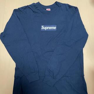 Supreme - supreme box logo ロンT