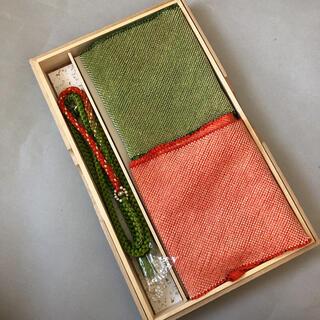 新品★上質正絹 帯締め帯揚げ総絞り 3点セット(和装小物)