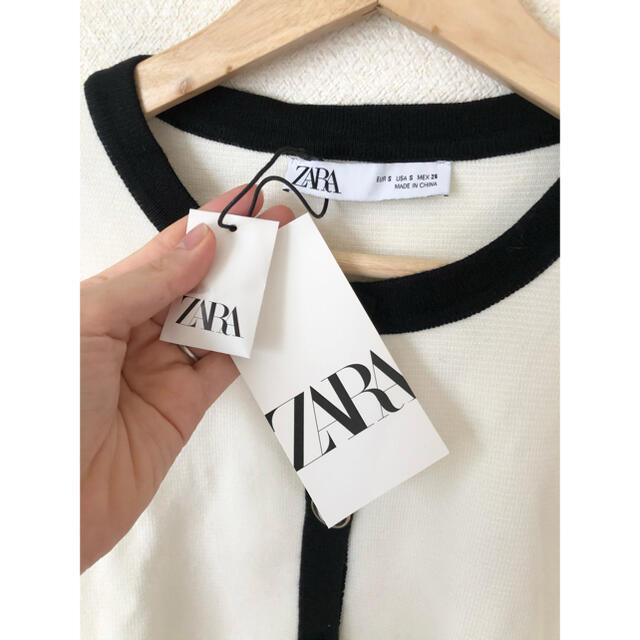ZARA(ザラ)のラクマ限定お値下げ中  ZARA 新品未使用 カーディガン レディースのトップス(カーディガン)の商品写真