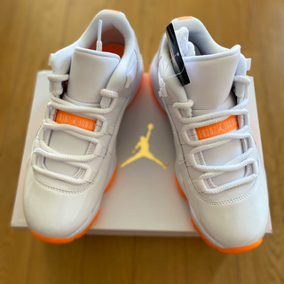 ナイキ(NIKE)のAir Jordan 11 Low Bright Citrus (スニーカー)
