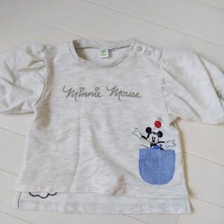 ミニーマウス(ミニーマウス)のディズニー ミニーマウス Tシャツ 80 85(Tシャツ)