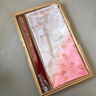 新品★上質正絹 帯揚げ帯締め2点セット(和装小物)