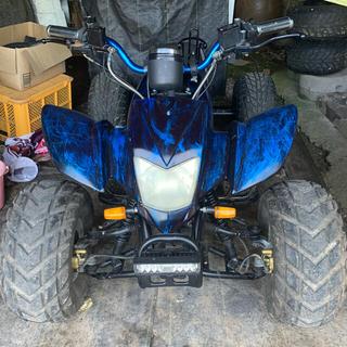 ATV四輪バギー  3速1バックギア 実働! ノーヘル、ミニカー登録 自賠有り