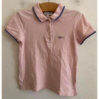 ラコステ(LACOSTE)のLACOSTE ラコステ コ ポロシャツ ピンク サイズ8(128cm) (Tシャツ/カットソー)