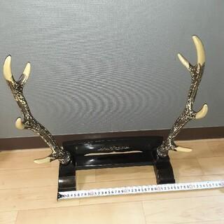 鹿の角置物(置物)