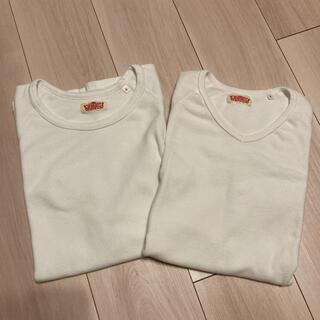 HOLLYWOOD RANCH MARKET - ハリウッドランチマーケット ストレッチフライス 半袖Tシャツ 2枚セット