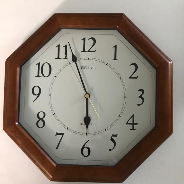SEIKO(セイコー)の壁掛け時計 インテリア/住まい/日用品のインテリア小物(掛時計/柱時計)の商品写真