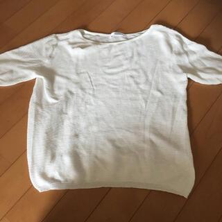 アメリエルマジェスティックレゴン(amelier MAJESTIC LEGON)の美品 トップス M(Tシャツ(半袖/袖なし))