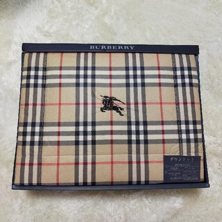 BURBERRY - BURBERRY ダウンケット 羽毛布団 羽毛 布団 ノバチェック バーバリー