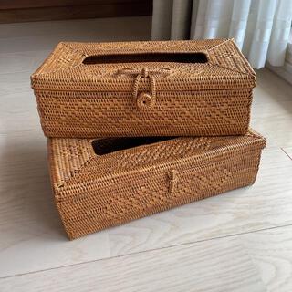 アタ バリ島 アシタバ  ティッシュケース box 雑貨