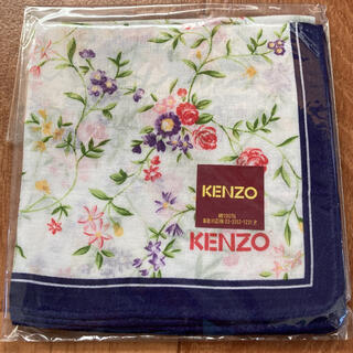 KENZO - 【新品無使用袋入り】ケンゾー KENZO ハンカチ 花柄
