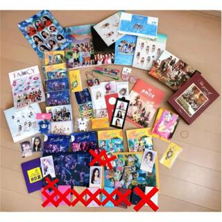 ウェストトゥワイス(Waste(twice))のTWICE CD・グッズセット(K-POP/アジア)