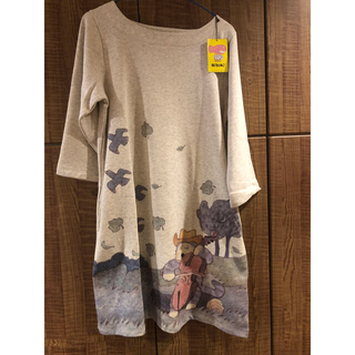 グラニフ(Design Tshirts Store graniph)のグラニフ 11ぴきのねこ(ひざ丈ワンピース)