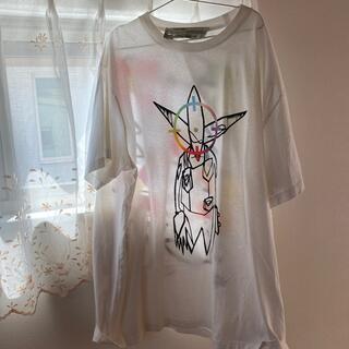 オフホワイト(OFF-WHITE)のOff-White tシャツ (Tシャツ/カットソー(半袖/袖なし))