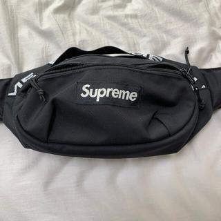 シュプリーム(Supreme)のSupreme 18ss Waist Bag black(ボディーバッグ)