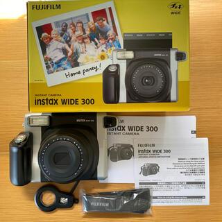 フジフイルム(富士フイルム)の富士フイルム チェキワイド(instax WIDE 300)(フィルムカメラ)