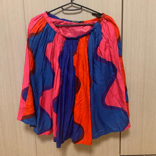 マリメッコ(marimekko)のマリメッコ スカート 34サイズ lekki (ひざ丈スカート)