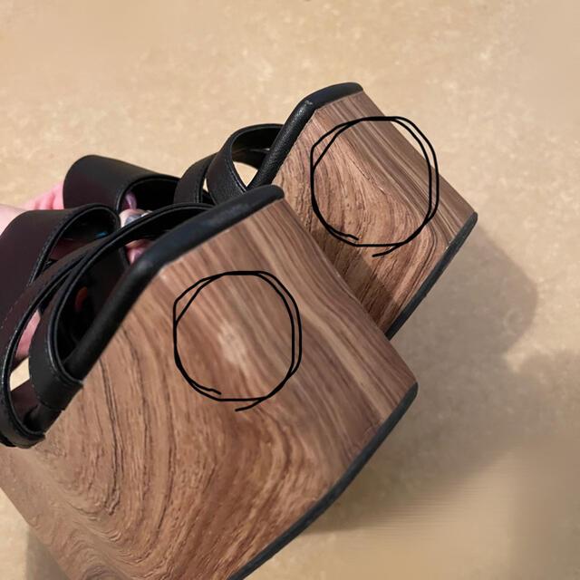 EMODA(エモダ)のEMODA サンダル レディースの靴/シューズ(サンダル)の商品写真