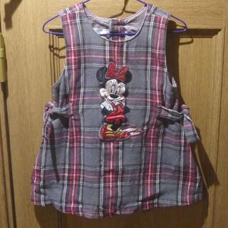 ディズニー(Disney)のDisneyStoreミニーちゃんジャンパースカート サイズ2/3T<k333>(スカート)