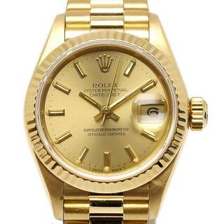 ROLEX - 【美品】ROLEX ロレックス 69178 デイトジャスト 金無垢 腕時計
