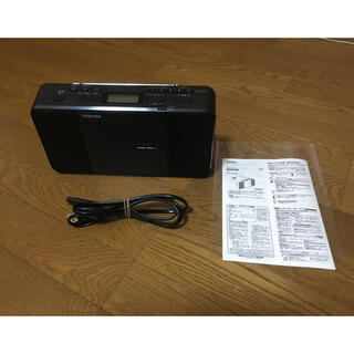 東芝 - 東芝 CDラジオ TY-C250 2018年製 ブラック