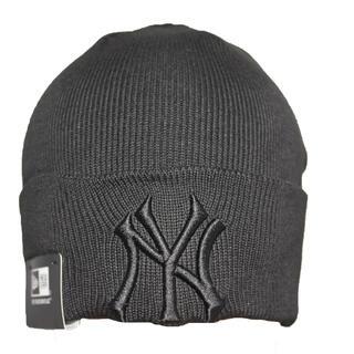 ニットキャップ ニット帽子 ニューヨークヤンキースロゴ メンズ レディース兼用 (ニット帽/ビーニー)