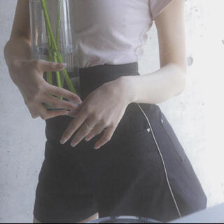 バブルス(Bubbles)のmelt the lady heart denim short pants(ショートパンツ)