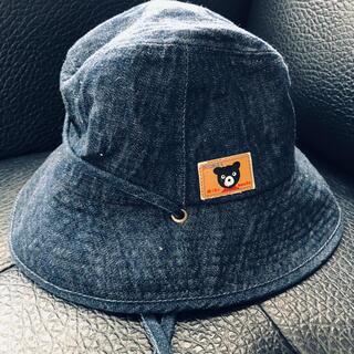 ダブルビー(DOUBLE.B)のダブルB デニム の帽子 56(帽子)