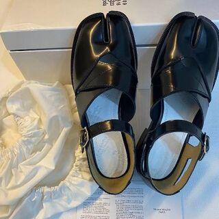 Maison Margiela レザー ローファー 足袋 タビ シューズ 革靴