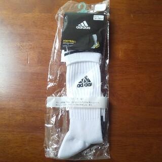 アディダス(adidas)のアディダスサッカーソックス16-18cm(その他)