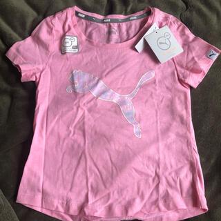 プーマ(PUMA)のPUMA トップス チュニック(Tシャツ/カットソー)