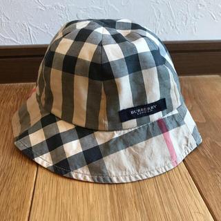 BURBERRY - Burberry バーバリー ベビー 帽子 バーバリーチェック