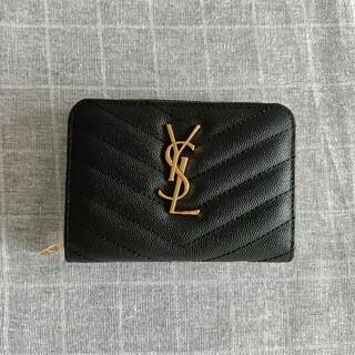イヴサンローランボーテ(Yves Saint Laurent Beaute)の☆素敵☆Saint Laurent 折り財布 コインケース(コインケース/小銭入れ)