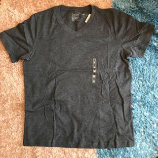 MUJI (無印良品) - 無印良品 VネックTシャツ オーガニックコットン