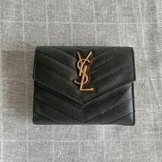 イヴサンローランボーテ(Yves Saint Laurent Beaute)の☆素敵☆Saint Laurent 三つ折り財布 コインケース(コインケース/小銭入れ)