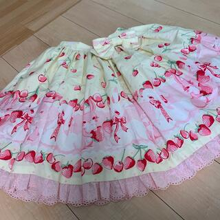 Angelic Pretty - アンジェリックプリティ cherry berry bunny スカート