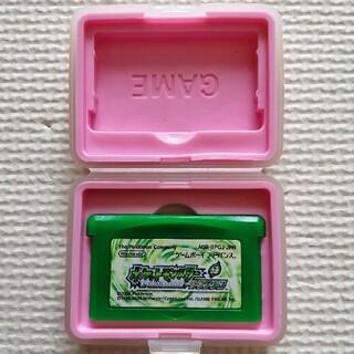 ゲームボーイアドバンス(ゲームボーイアドバンス)のポケットモンスター リーフグリーン 緑(携帯用ゲームソフト)