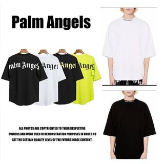 Palm angels ロゴTシャツ